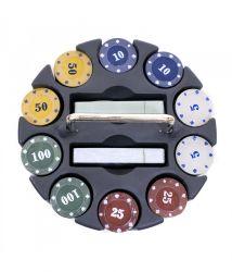 Jogo De Poker 200 Fichas E Baralhos