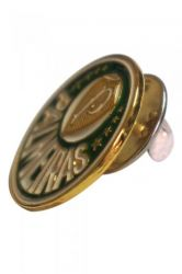 Broche (Pin) Dourado