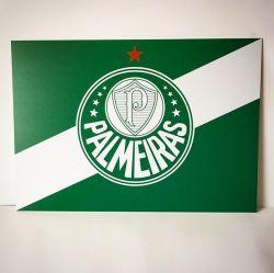 Placa Bandeira Oficial 30cm