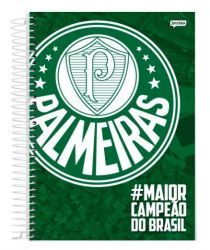 Caderno Espiral 1/4 Capa Dura 96 Folhas - #MaiorCampeaoDoBrasil