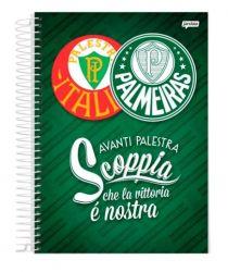 Caderno Espiral 1/4 Capa Dura 96 Folhas - Scoppia