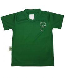 Camiseta Verde Bordada P Unissex