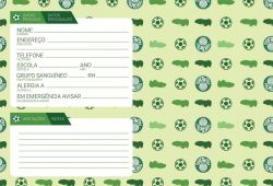 Caderno Brochura 96 Folhas - Academia de Futebol