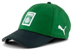 Boné Aba Curva Verde 20/21 Logo - Puma/Palmeiras