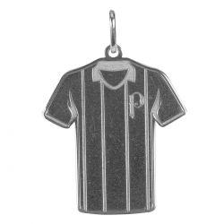 Pingente Camisa Listrada - Prata