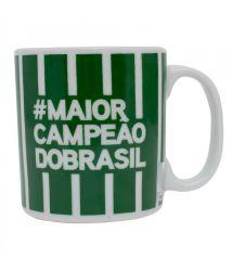 CANECA DE PORCELANA #MAIORDOBRASIL 320ML