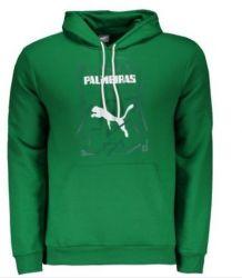 Moletom Infantil Graphic Hoody Verde - Puma/Palmeiras