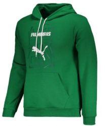 Moletom Infantil Grapchic Hoody Verde - Puma/Palmeiras