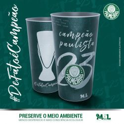 Copo do Jogo - Título Paulista - Campeão Paulista