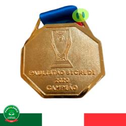 Medalha Palmeiras Campeão Paulista 2020