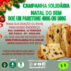 Campanha Solidária Natal do bem - Doação de Panetones