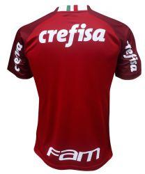 Camisa Puma Palmeiras III Goleiro 2019 - Com Patrocínios