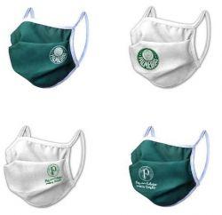 Kit com 4 Máscaras do Palmeiras