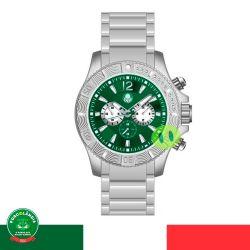 Relógio Palmeiras Luxo (Fundo Verde)