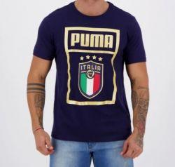 Camiseta Figc Puma DNA Itália  20/21