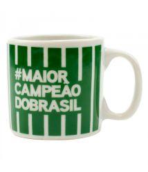 Caneca de Porcelana 120ml #MaiorCampeãoDoBrasil