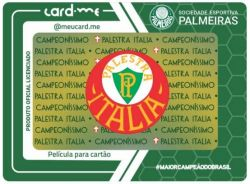 Película Para Cartão - Palestra Itália