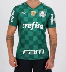 Camisa I 2021 Patrocínios Oficiais e Patchs Libertadores