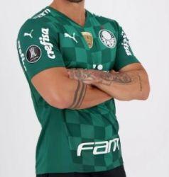 Camisa I 21/22 Patrocínios Oficiais e Patchs Libertadores