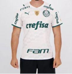 Camisa II 21/22 com Patrocínios Oficiais e Patchs Libertadores 2020