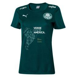 Camisa Feminina Comemorativa Bicampeão da Libertadores Verde
