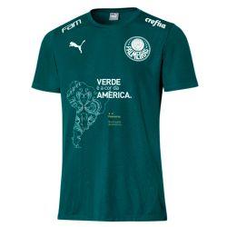 Camisa Infantil Goal Bicampeão da Libertadores Verde