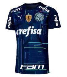 Camisa de Goleiro I 21/22 Patrocínios Oficiais e Patch Campeão da Libertadores 2020