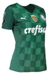 Camisa Feminina I 21/22 Com Patchs Campeão da Libertadores