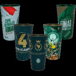 Kit - Copos comemorativos do Palmeiras 2020