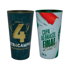 Kit Copos do Palmeiras  Final  da  Copa do Brasil  + Tetracampeão da Copa do Brasil 2020