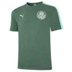 Camiseta Viagem Palmeiras T7 verde  21/22