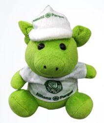 Porquinho Verde c/ Uniforme