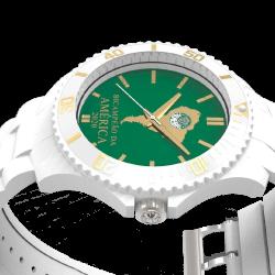 Relógio Citizen Libertadores Branco/Verde