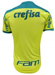 Camisa Treino Limão Masculina 21/22 com  Patrocínios Oficiais