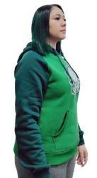 Moletom S.E.P. Verde Feminina