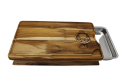 Tábua com Bandeja 47x30x7cm (Gravado à Laser)