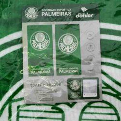 Toalha Escudo Palmeiras Veludo 70X140