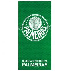 Toalha Colmeia Palmeiras Veludo 70X140